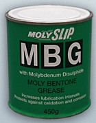 Molyslip MBG. Multi-purpose bentone grease.